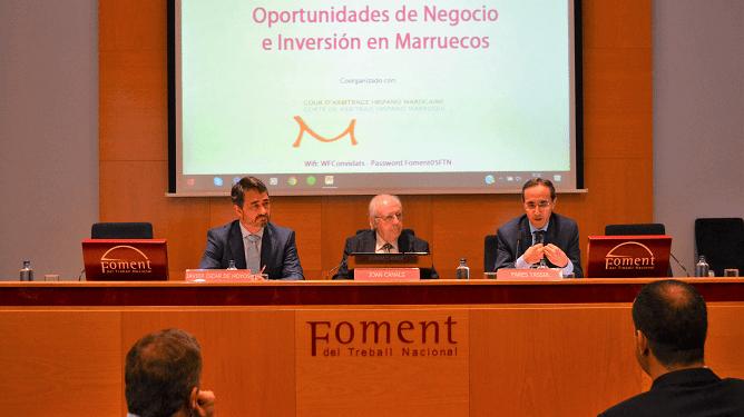 """Ponentes """"Oportunidades de Negocio e Inversión en Marruecos"""""""